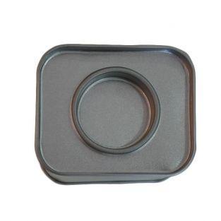 8 small rectangular metal boxes 6 x 5 x 4 cm