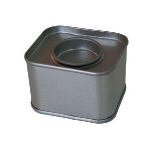 Small rectangular metal box 6 x 5 x 4 cm
