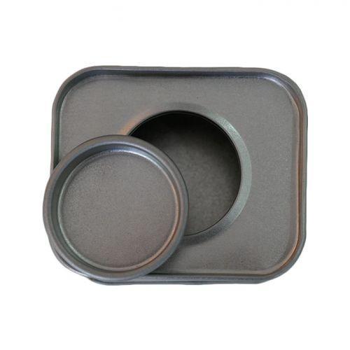 Petite boîte métallique rectangulaire 6 x 5 x 4 cm