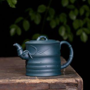 Iron blue watering can Teapot 480 ml