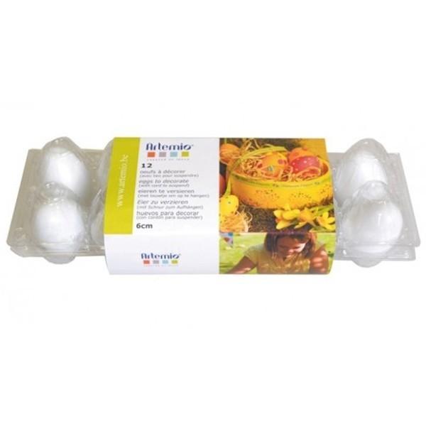 12 œufs de Pâques à décorer - Accessoire décoration - Youdoit.fr