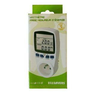 Wattmeter plug energy meter