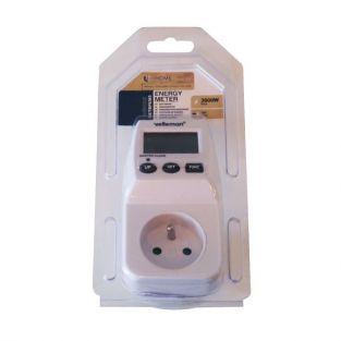 Wattmeter enchufe medidor de energía Velleman