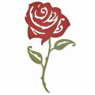 Matrice de découpe Sizzix - Rose