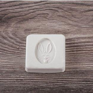 Rubber stamps for DIY soap x 2 - Rabbit & carrot