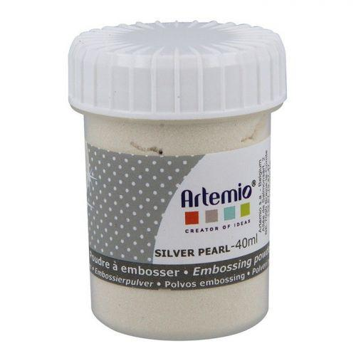 Embossing powder 40 ml - Silver