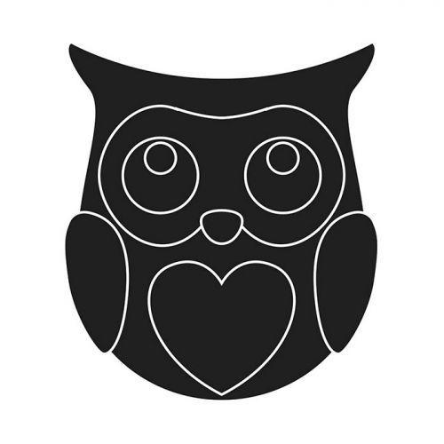 Thinlits Cutting die 6.8 x 7 cm - Owl