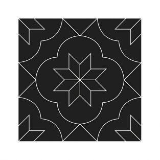 Thinlits Cutting die 12 x 12 cm - Cement tiles