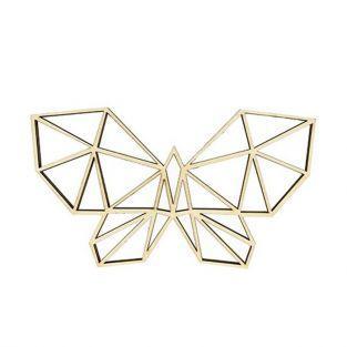 Silhouette en bois MDF - Papillon en origami