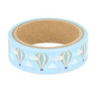 Masking tape 5 m x 1.5 cm - Hot air balloon