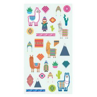 Puffies Stickers - Lamas & Alpacas