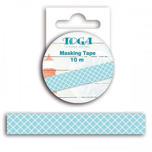 Masking tapes blue-white seaview 10 m
