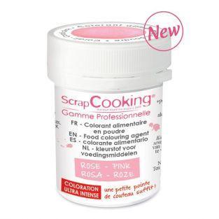 Colorant alimentaire en poudre rose poudré 5 g