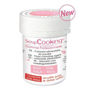 Colorante alimentario en polvo 5 g - Rosa antiguo