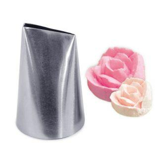 Stainless steel pastry Nozzle - Large petal
