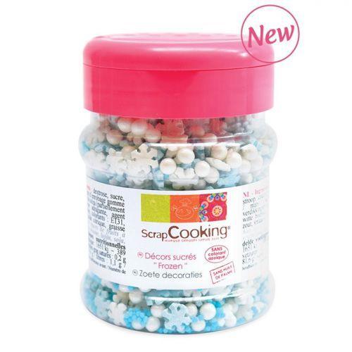 Decoraciones de azúcar 50 g - Frozen
