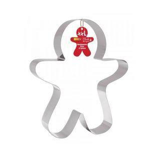 Cortador de galletas de acero inoxidable XXL - Hombre de jengibre