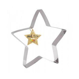 Cortador de galletas de acero inoxidable XXL - Estrella