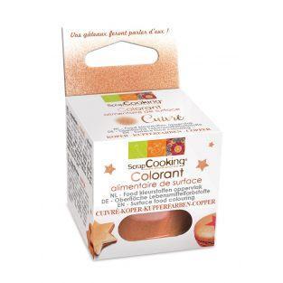 Colorante alimentario en polvo 5 g - Cobrizo