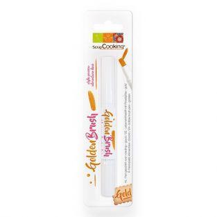 Food colouring brush pen 2 ml - Golden