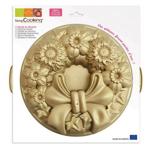 Silicone cake mould - Crown