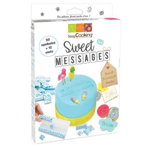 Coffret à pâtisserie & biscuits Sweet messages