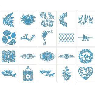20 motifs dentelle Brother ScanNCut (2)