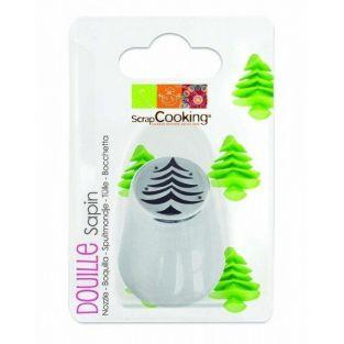 Stainless steel pastry nozzle - Fir