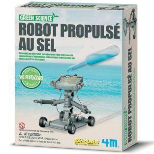 Juego educativo científico - Robot accionado por sal