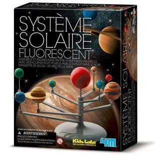 Coffret découverte de la science - Système solaire fluorescent