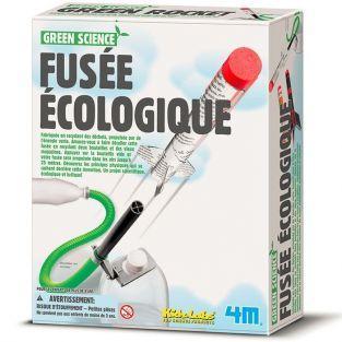 Juego educativo científico - Cohete ecológico