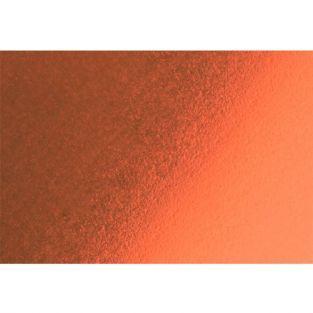 Tissu thermocollant 20 x 15 cm - Effet métal cuivré