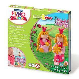 Set de modelado FIMO para niños - Princesas