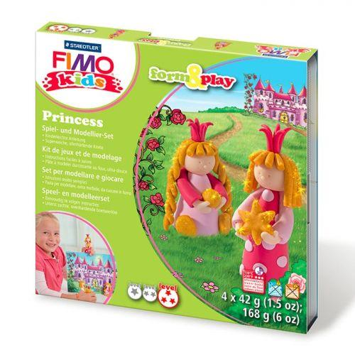 FIMO Modelling set for children - Princesses