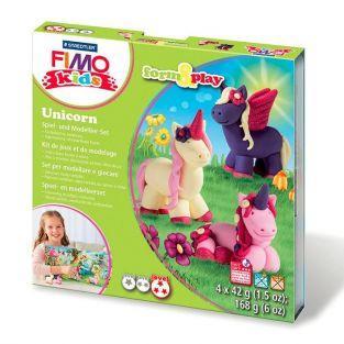Conjunto de modelado FIMO para niños - Unicornio