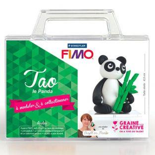 Conjunto de modelado FIMO para niños - Tao the Panda 6.5 cm