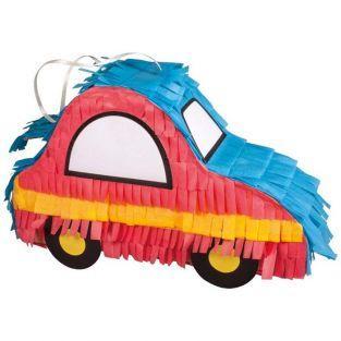 Piñata voiture à fabriquer - 26 x 8 x 18 cm