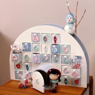 Igloo Advent Calendar 44 x 32 cm
