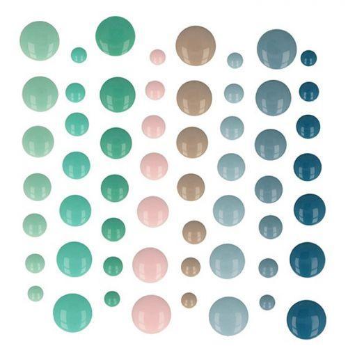 64 adhesive enamel drops - My little Christmas