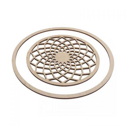 gamme exceptionnelle de styles et de couleurs grande variété de styles baskets pour pas cher Disques bois pour Attrape-rêves Ø 13 cm + anneau 18 cm
