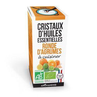 Cristales de aceites esenciales - Cítricos