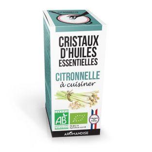 Cristaux d'huiles essentielles Citronnelle