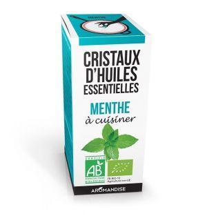 Cristaux d'huiles essentielles Menthe