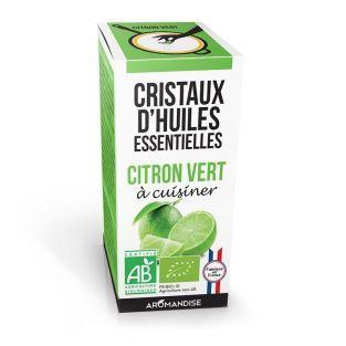 Cristaux d'huiles essentielles Citron vert