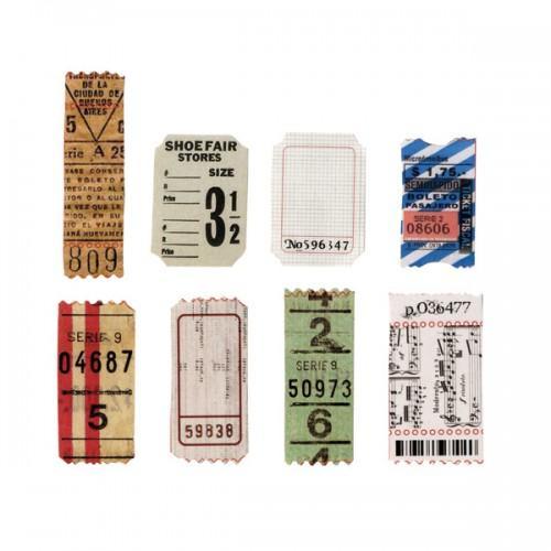Formes découpées Tickets