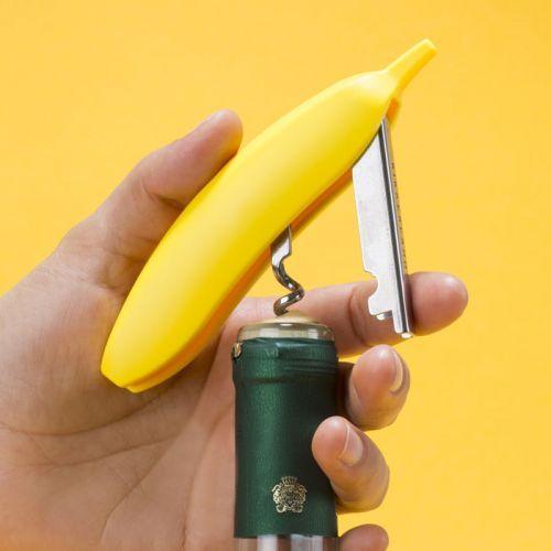 Kit tire-bouchon Singe & banane