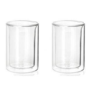 2 tea cups with double-walled glass 175 ml