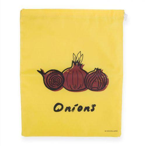 Bolsa de cebolla en tela 26.5 x 36.5 cm