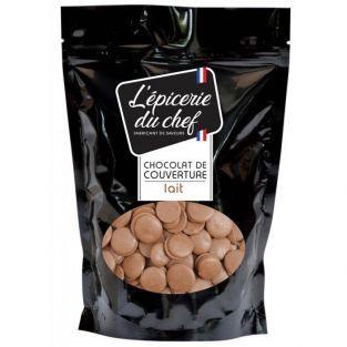 Palets de chocolat de couverture 1 kg - lait