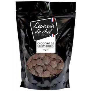 Cover chocolate chips 1 kg - black